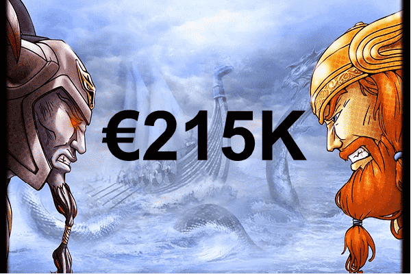 A lucky German wins almost €215K playing Hall of Gods