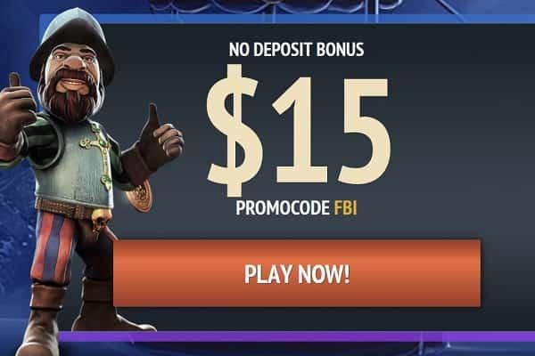 $15 Free No Deposit by Riobet
