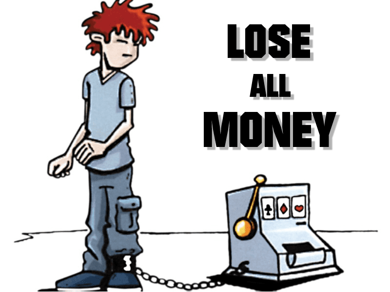 I ve lost all my money in gambling What can I do