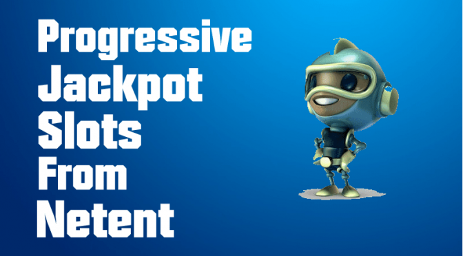 Online slots with progressive jackpot from NetEnt