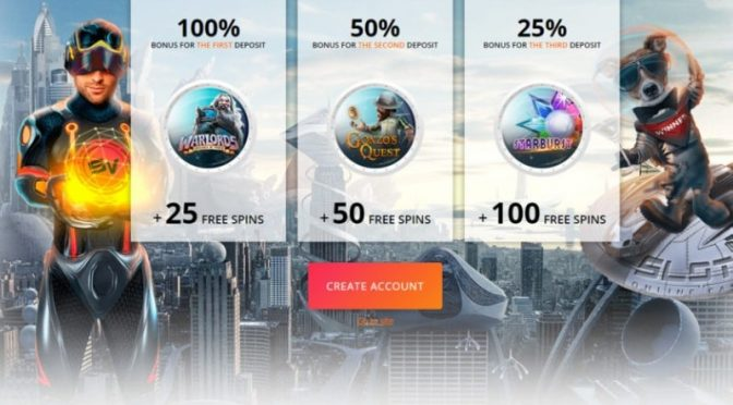 SlotV Casino Gifts Upon Registration