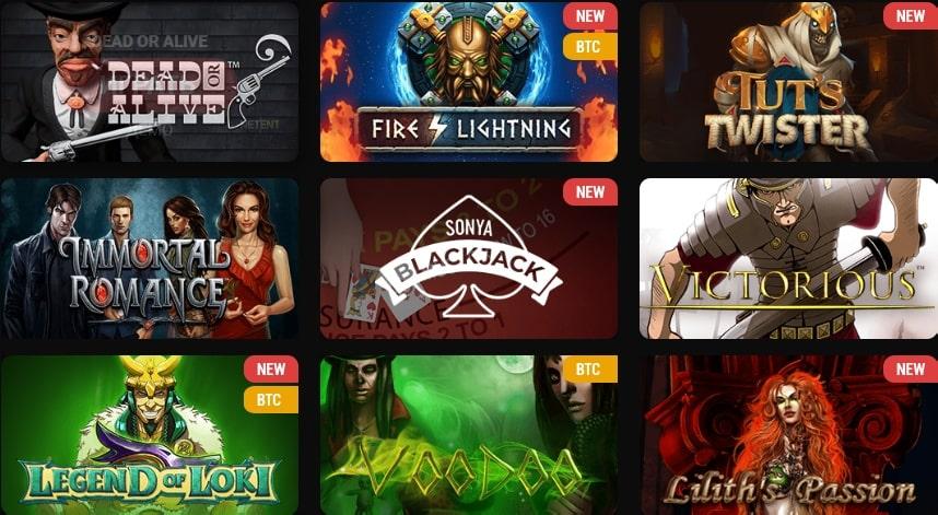 Betchan Casino Games