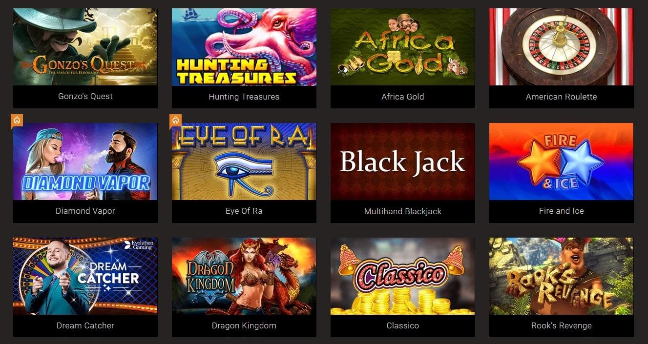 Bitstarz casino games