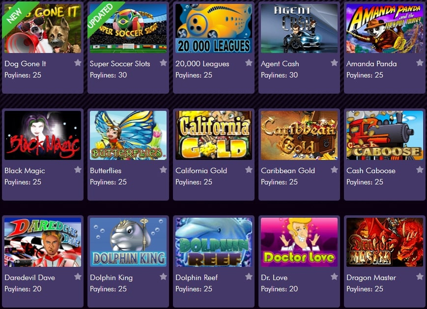 Miami Club Casino slots