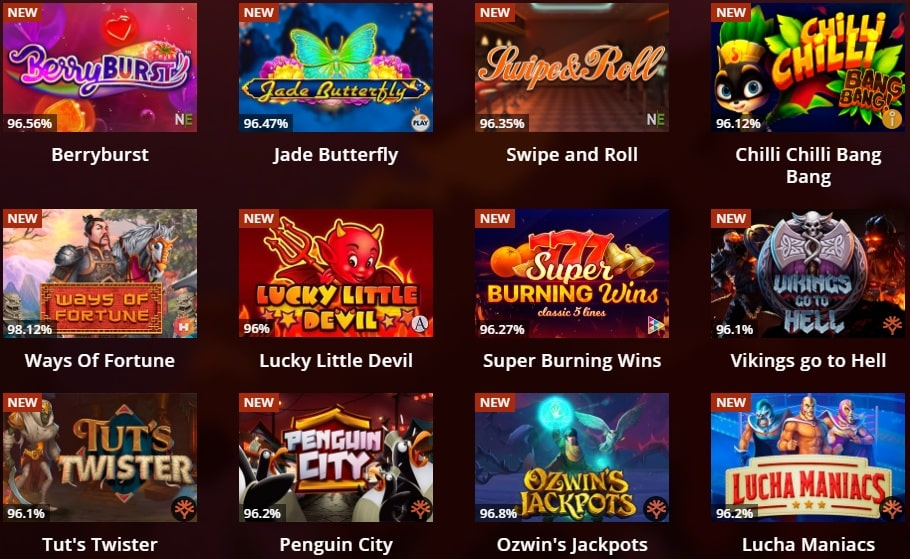 Riobet casino games
