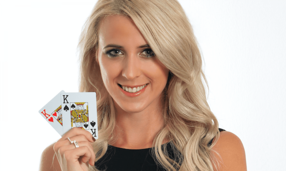Poker European champion Jessica Teusl